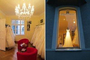 """Der Brautladen """"Flamenco"""" von Claudia Klimm in München Schwabing."""