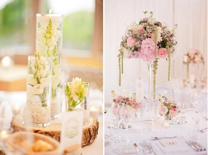 Glaser Dekorieren Hochzeit