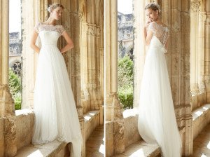 Das romantische Brautkleid Mar von Raimon Bundo