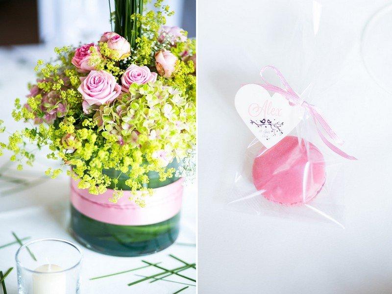 tischdeko-hochzeit-rosa-gruen-pastell-gastgeschenk-inspiration-schloss ...