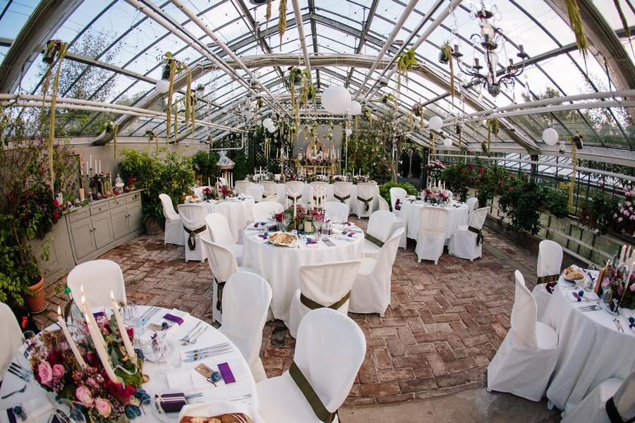 Hochzeit in der Alten Gärtnerei bei München.