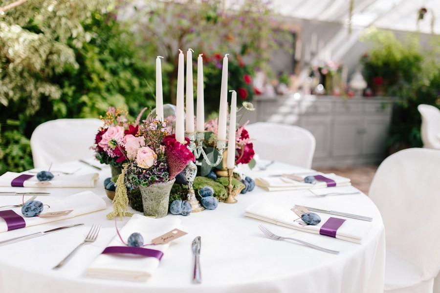 tischdeko-romantisch-kerzen