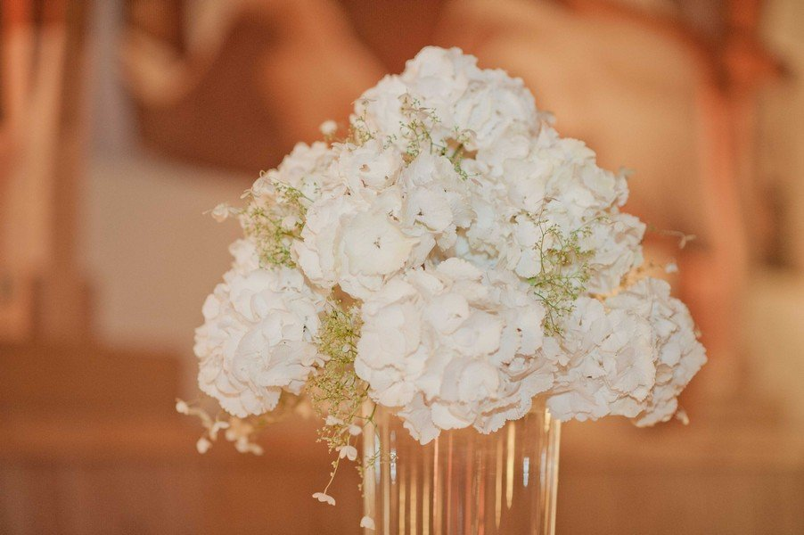 Blumen für eine Hochzeit im Stil der 20er Jahre