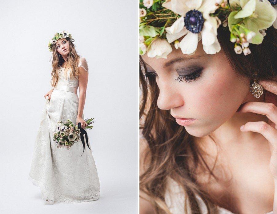 Make-up, Frisur und Styling für die Boho-Braut
