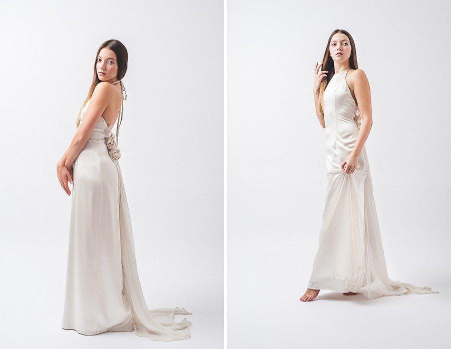 Natürliches Braut-Styling im klassischen Nude-Look