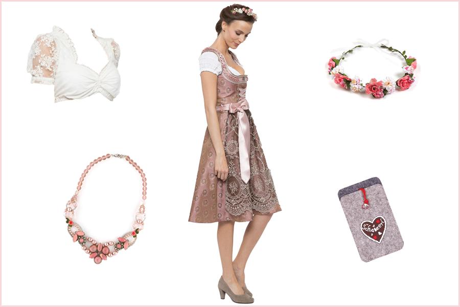 Braut-Outfits, Dirndl und Accessoires von Ludwig und Therese aus München