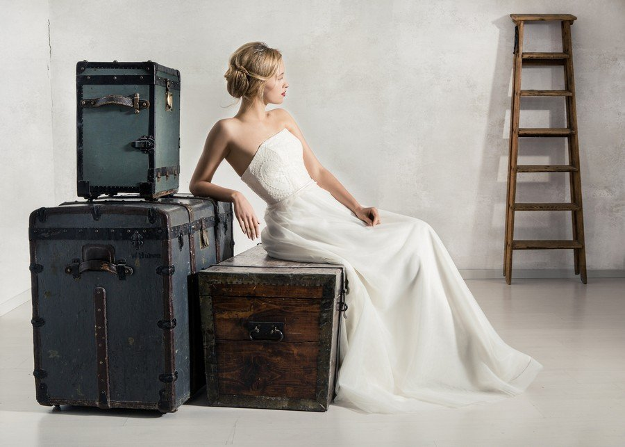Das Brautkleid Louise von La Robe Marie