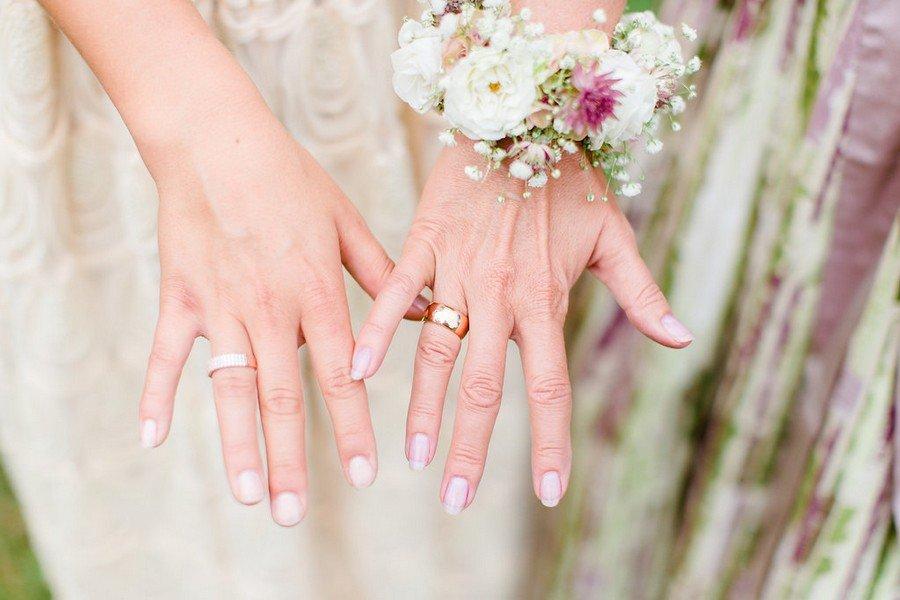 Ideen, wie ihr das Styling von Braut und Brautmutter passend aufeinander abstimmen könnt, am Beispiel von Tracht und Brautdirndl.