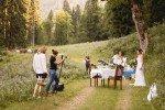 """Ein nicht ganz alltäglicher styled shoot im bayerischen Alpen-Dschungel: Making-of """"Wie im Traum"""""""