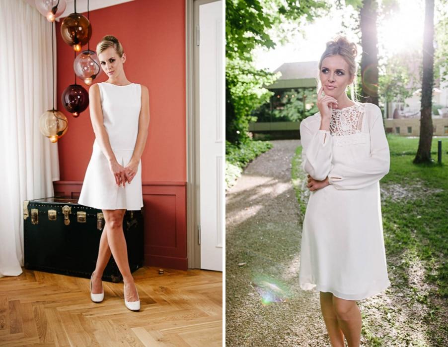 Brautkleider Sunny und Vicky von Küssdiebraut