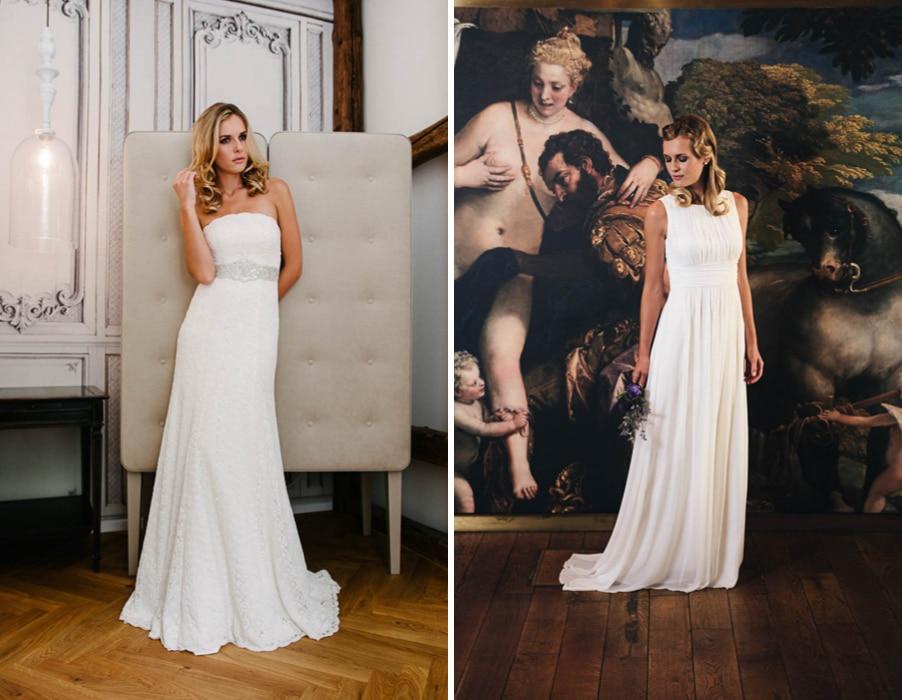 Brautkleider Lou und Kim von Küssdiebraut