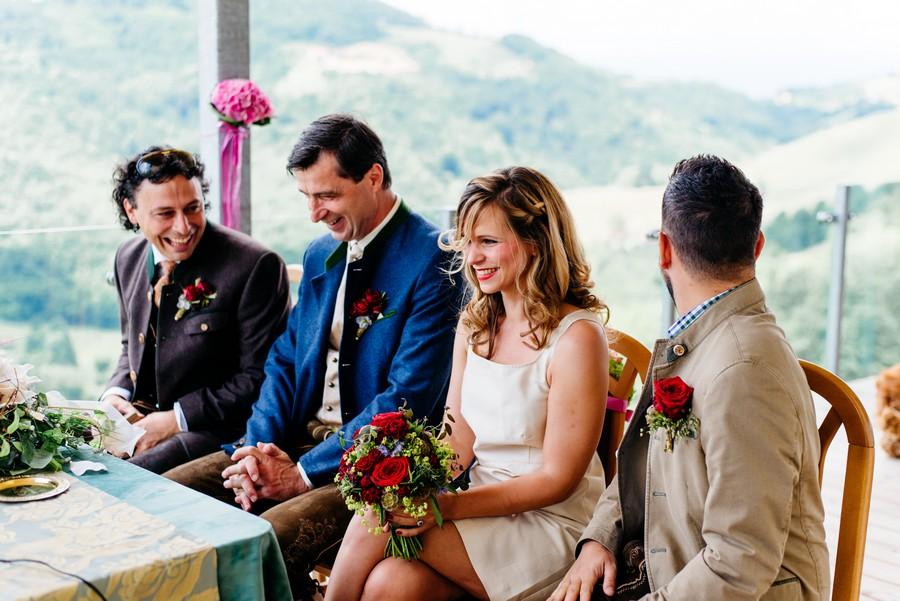 Hochzeit im Standesamt in den Weinbergen Österreichs