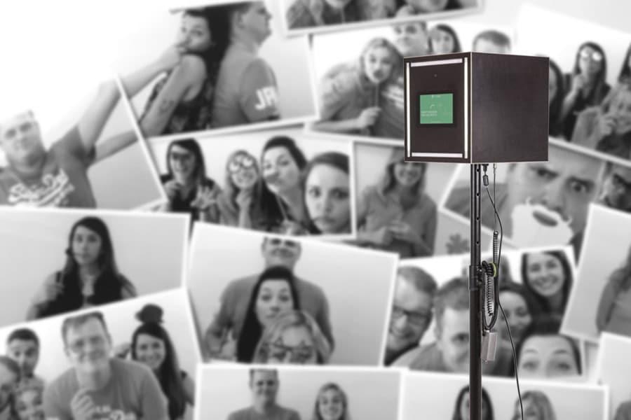 Die Kruu Fotobox für Hochzeiten und andre Events