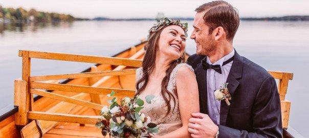 Zauberhafte Inspirationen für eine natürliche Boho-Hochzeit mit Kupfer am Starnberger See im La Villa