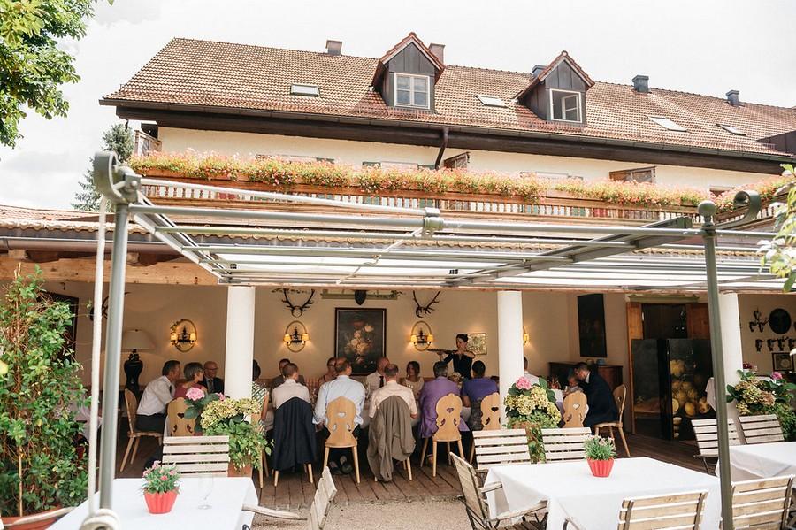 Hochzeit im Brauereigasthof Aying