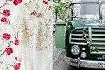 Romantisch-gemütliche Hochzeit mit Oldtimer-Reisebus in Wasserburg am Inn